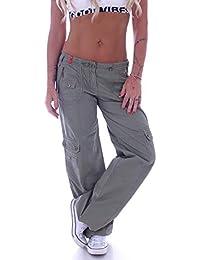 Suchergebnis auf Amazon.de für  cargohosen damen - Damen  Bekleidung 84735e1946