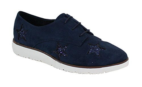 By Shoes, Damen Sneaker Blau