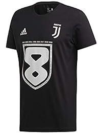 huge discount 32ddf d583e adidas Juventus t-Shirt 8 Scudetto 2018 19 Campioni 37, Nero