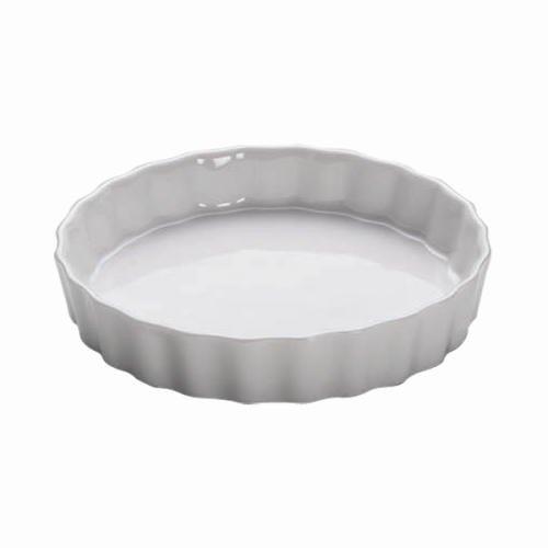 Maxwell & Williams Kitchen Quiche Form, Quicheform, Backform, Porzellan, Weiß, 13 cm, AA05012