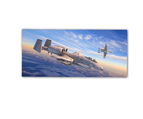 Copytec Poster rOEN911 Fairchild A-10 Thunderbolt II AF82 USA Air Force ab30x14cm#30715, Poster Größen 2:42x20 cm, Farbe:Mehrfarbig 20 X 42 Satin