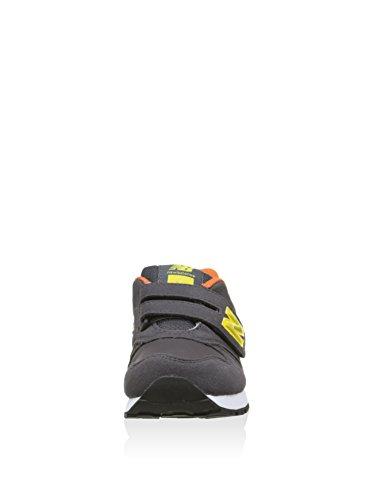 New Balance Jr 373, Sneaker Unisexe - Enfant Gris Foncé / Jaune