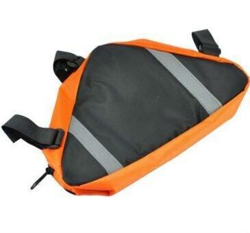 Kingstons Fahrrad Bike Bag Top Tube Triangle Tasche Orange