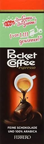 Preisvergleich Produktbild Pocket Coffee ,  12er Pack (12 x 5 Stück Packung)