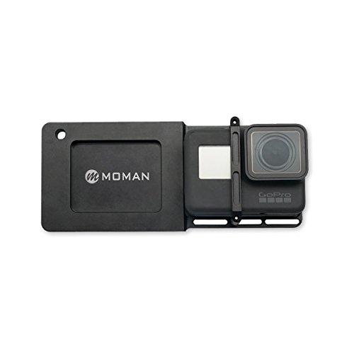 Moman GoPro Gimbal Adapter Mount Platte Halterung Kamerahalterung für GoPro Hero 6/5/4/3/3+ DJI Osmo Mobile 2 Zhiyun Smooth 4 Smooth Q Feiyutech Gimbal Handheld Kamera Stabilisator