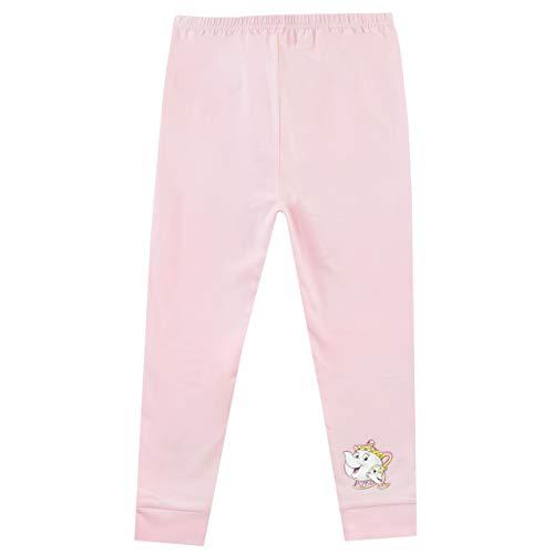Disney Pijamas para Niñas 2 Paquetes Ajuste Ceñido Ariel y Belle