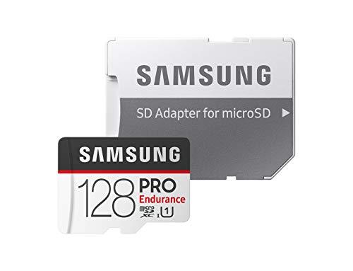 Samsung Pro Endurance - Tarjeta de Memoria microSDHC (128 GB, Incluye Adaptador SD)