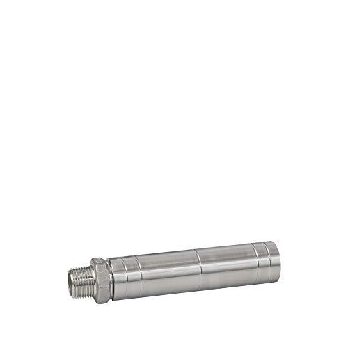 Prime Inventions GmbH Wasserverwirbler Aquawhirler Inline mit V4A Edelstahlgehäuse und Wirbelkugeln aus Quarz
