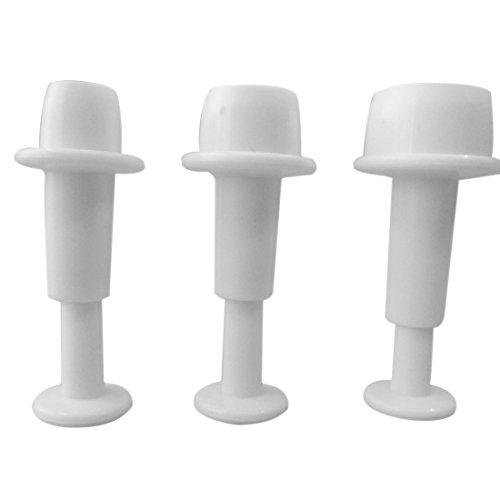 3rund Kreis Fondant Kuchen Plunger Cutter Dekorieren Form Fondant Plunger