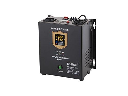 KEMOT URZ3416 Solarwechselrichter, Solarinverter 700 W, PV/AC