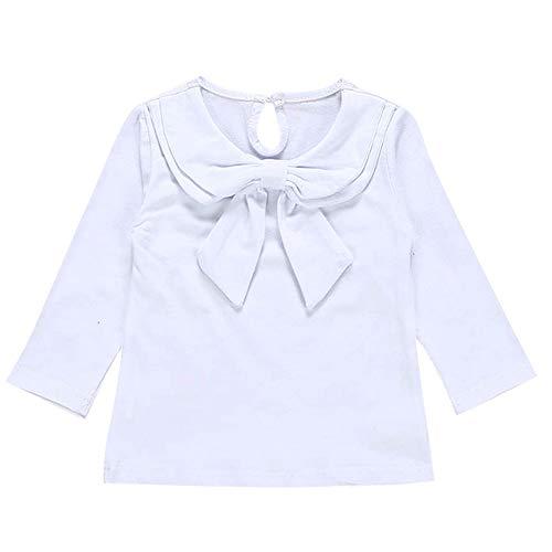 Kobay Babykleidung Mädchen Winter Langarm Peter Pan Kragen -