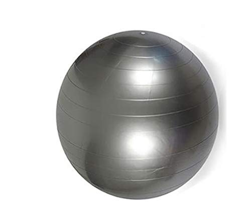 Pvc dicke explosionssichere yoga ball klein mittel groß yoga ball fitness ball,Silver,large
