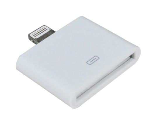 Preisvergleich Produktbild Mammoth XT Weißer 8-poliger auf 30-poliger Adapter Konverter - Dock Verbindung für iPad Mini / iPod Nano / iPhone 5