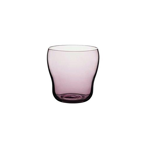DEGRENNE - Bilbao lot de 6 gobelets 30cl , verre - Sable rose