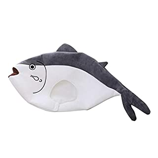 Bouder Lustige Partyhut, Cartoon Puffer Fischhut Kopfbedeckung Cosplay Requisiten Plüsch Material robust und bequem geeignet für das Tragen Ihrer Lieblingsparty