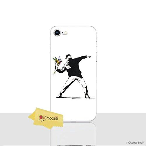 iPhone 8 Banksy Silikonhülle / Gel Hülle für Apple iPhone 8 (4.7