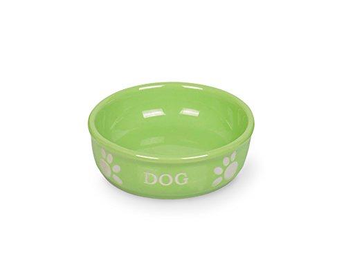 nobby-mangeoire-en-terre-cuite-pour-chien-motif-dog-vert-clair-diametre-12-cm
