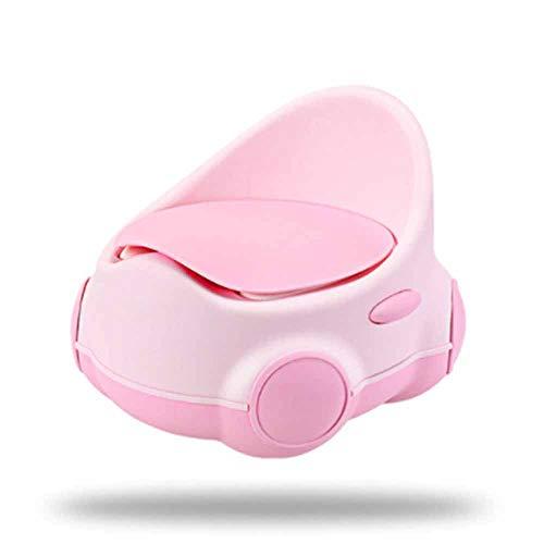 LIBWX Baby-Toilettentraining Süß modellierendes Toilettentraining Töpfchen Baby Kid ChildrenPotties Urinal Badezimmer Pee Trainer Kindertopf Multi Stage Potty,Red -