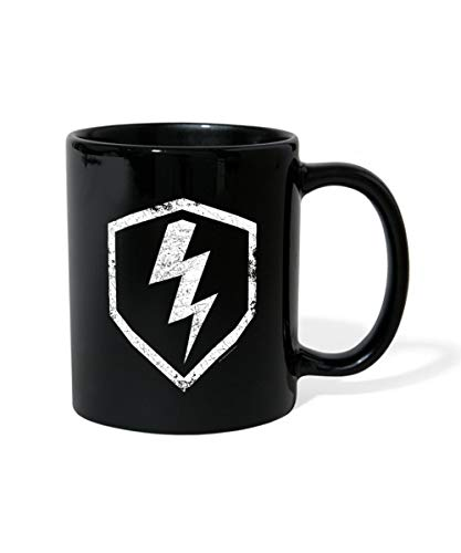 Spreadshirt World Of Tanks Blitz Classy Tasse einfarbig, Schwarz