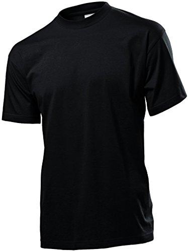 Stedman Herren T-Shirt Black - Black Opal