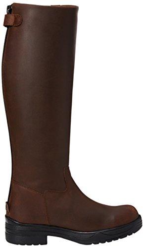 Toggi Kendrick Long Boot, Chaussures d'Equitation Mixte Adulte Marron (Cheeco)