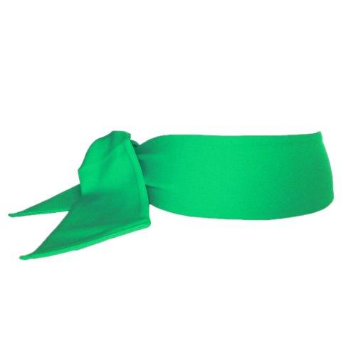 Sportkind Erwachsene & Kinder Tennis/Fitness/Running Stirnband, grün