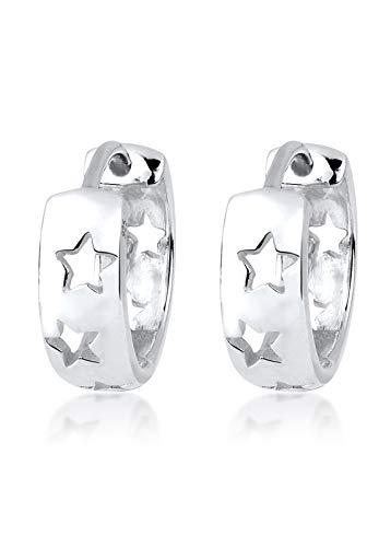 Elli Trend Multi-Color Ohrringe, 925er Sterling Silber