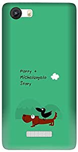 APE Designer Back Cover for MICROMAX CANVAS PLAY 4G Q469