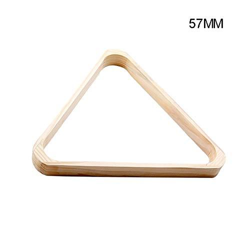 Ajboy - Supporto da Biliardo in Legno con Triangolo a Forma di Diamante