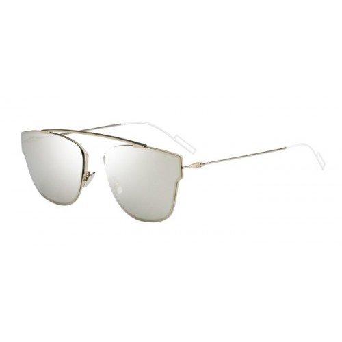 Dior Herren DIOR0204S M3 CGS Sonnenbrille, Gold (Ltgld Smtte Silver Grey Speckled), 57
