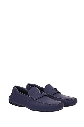 2dd127baltico Leder Loafers Herren Blau Prada qCq80w1U