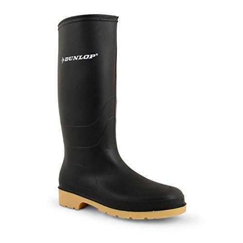 Herren Dunlop Wasserdicht Walking Festival Gummistiefel Regen Schnee Gummistiefel Größe Grün
