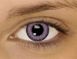 AMETHYST PURPLE Colored Contacts Kontaktlinsen Farbige Kontaktlinsen Dual Tone Contact Lenses * FREE case included