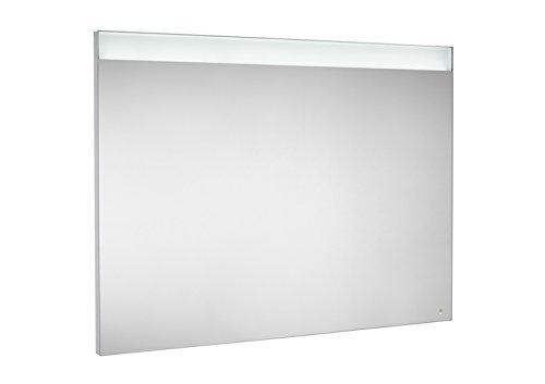 Roca A812267000 - Espejo con iluminación led superior e inferior y placa antivaho
