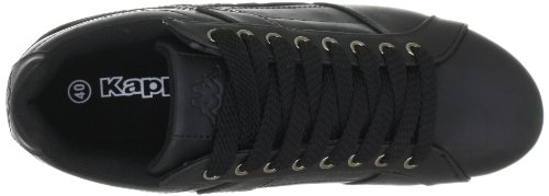 Kappa 241524, Baskets mode mixte adulte Noir (1111 Black 1111 Black)