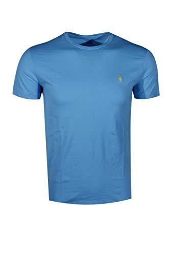 Polo Herren T-Shirt Ralph Lauren Rundhals - - Klein - Gestickte Grafik Tee