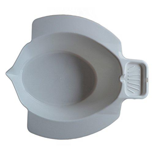 Bidetbecken, weiß   Dr. Junghans Medical Hygiene Becken für die Toilette   Intim-Wäsche / Pflege-Bad / Wasch-Bidet
