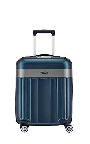"TITAN Gepäckserie ""Spotlight Flash\"": koffer, 55 cm, 37 Liter, North Sea"