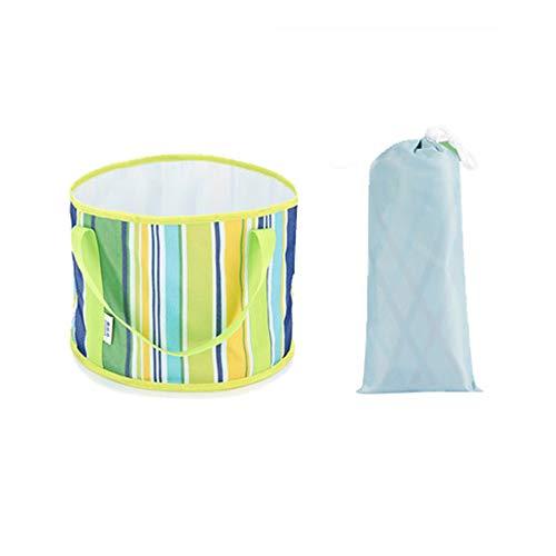 AA-SS-Collapsible Washing Up Bowl Tragbare zusammenklappbare Waschbecken Reise große Blase Tasche Waschbecken kleine Reise Fuß Waschen Eimer