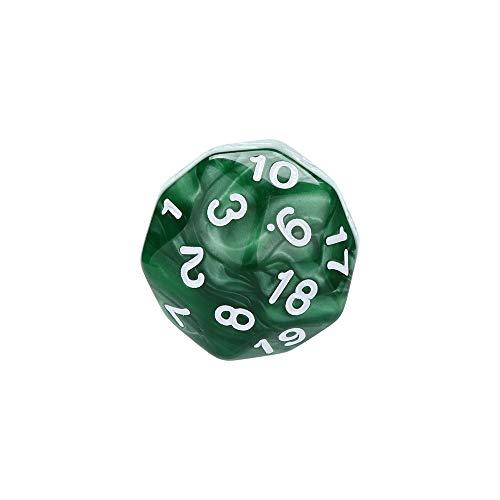 Würfel Spielzeug Spiele Spiele Zubehör Würfel Zubehör Polyhedrische Rollenspiel Polyhedral D30 Würfel mit mehreren Seiten -