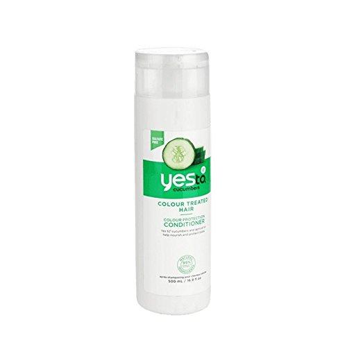 Oui Aux Concombres Couleur Protection Revitalisant 500Ml