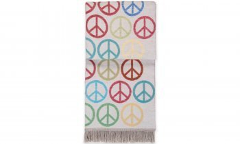 Pad - Decke - Kuscheldecke - Peace - Multi - Bunt - 150 x 200 cm