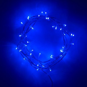 Indoor Fairy Lights with 40 LEDs on Clear Cable by Lights4fun - inexpensive UK light shop.