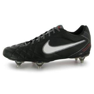 Nike Vôo Tiempo Chuteiras Homens Sg Preto (preto / Branco-mtlc Cl Gry-chllng R 010)
