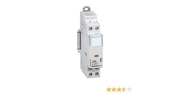 4P 3 modules contact 4F 63A 400V Legrand 412541 Contacteur de puissance CX/³ bobine 230V sans commande manuelle