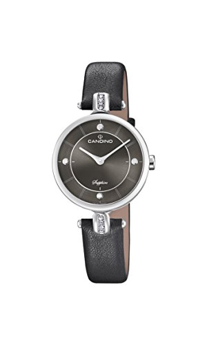 Candino Womens Analogue Classic Quartz Watch with Leather Strap C4658/4
