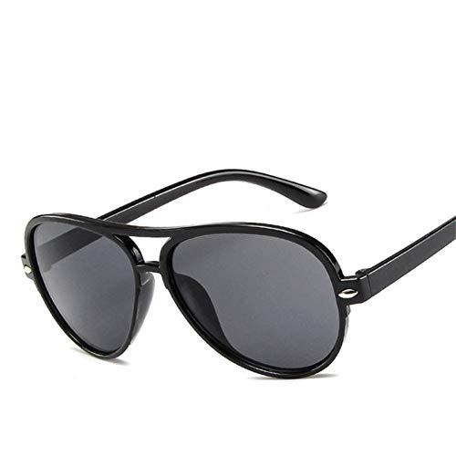 CCGKWW Aviator Kids SonnenbrilleFür Kinder Mode Polycarbonat Rahmen Acryl Objektiv Double Beam Brille Reise Geschenke