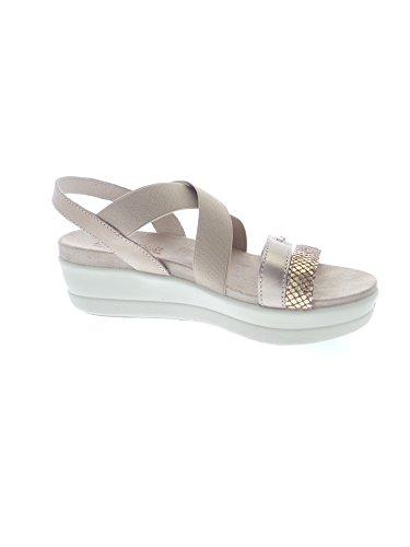 Enval 59692 Sandalo Donna Castoro/platino