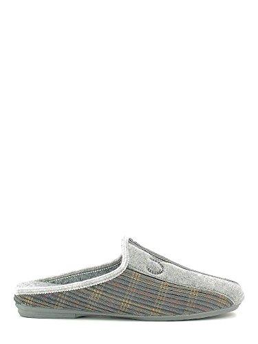 Susimoda 5604 Pantofola Uomo Grigio 42