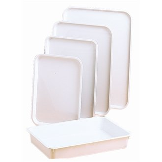 20 Restauration J841 High Impact ABS alimentaire plateau, 35,6 x 25,4 x 2,5 cm